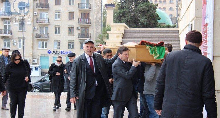 Amaliya Pənahova son mənzilə yola salındı