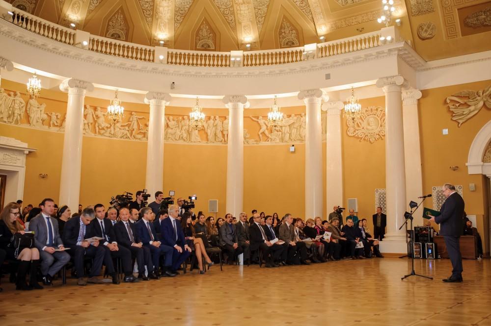 Leyla Əliyeva Moskvada Nəsimi ilə bağlı konfransın açılışında iştirak etdi