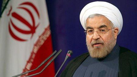 Ruhani: İran bombardmana məruz qalsa belə təslim olmayacaq
