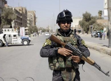 İraqda terror aktını qarşısı alınıb