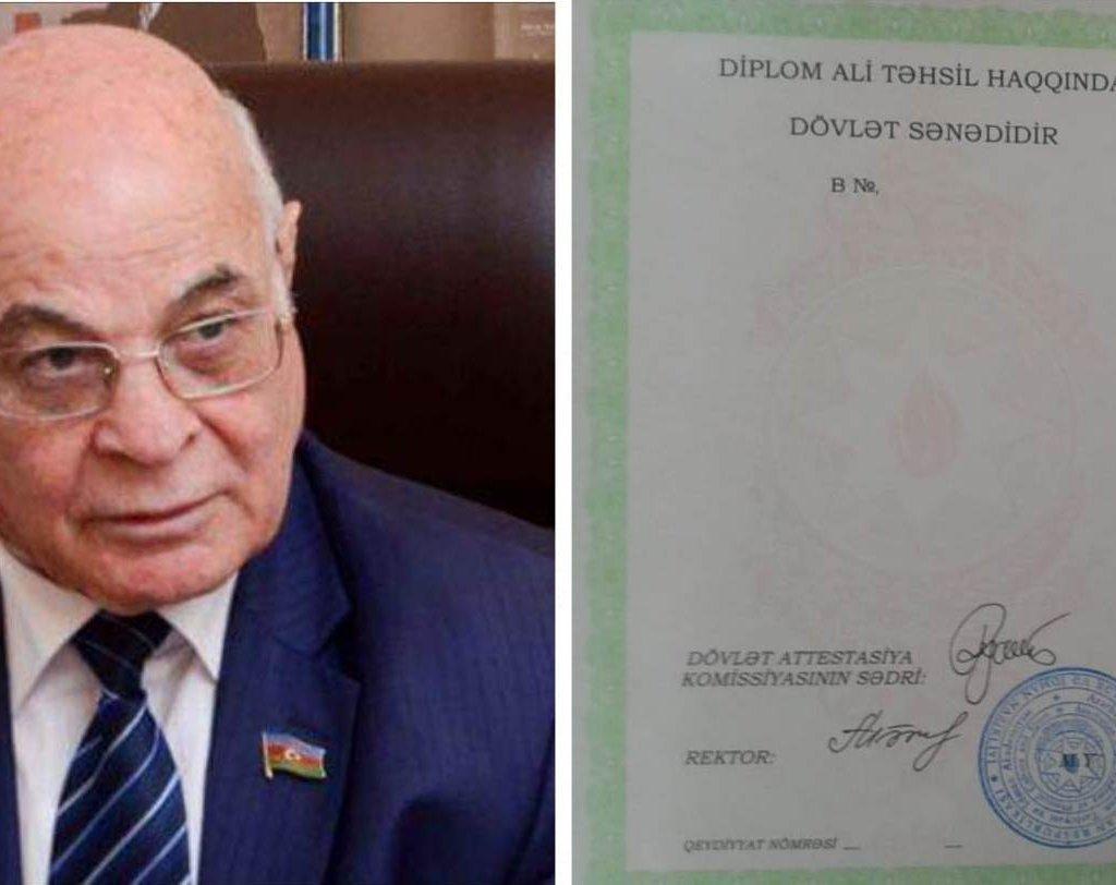 """Ağacan Abıyevin adı """"diplom işi""""ndə hallanır – Saxtalaşdırılmış imza, yoxsa?…"""