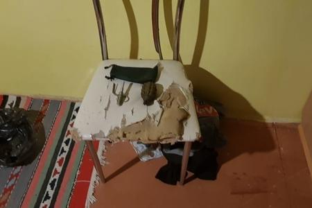 Qubada evdən əl qumbarası tapılıb