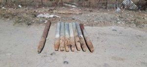 Ağstafada 8 raket tapılıb