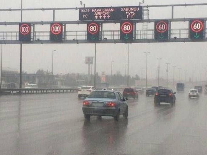 Sürücülərin NƏZƏRİNƏ: Bu yolda sürət aşağı salındı
