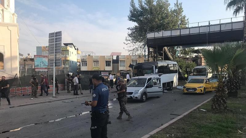 Çevik polis alayının avtomobili HAVAYA UÇDU – Çox sayda yaralı var