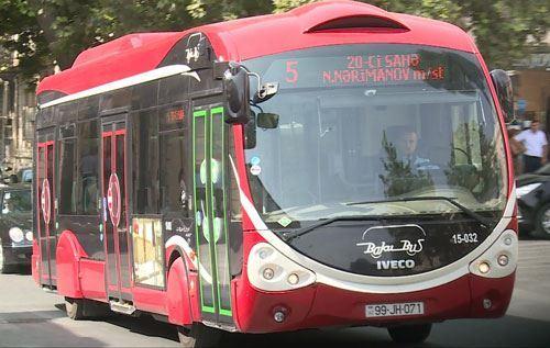 ŞAD XƏBƏR: Bu şəxslər avtobusdan pulsuz istifadə edəcək