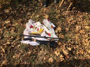 DSX-dən meşə əməliyyatı: Silahlar aşkarlandı