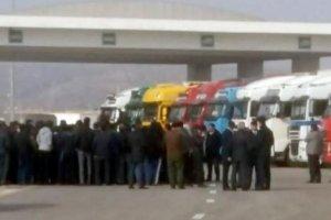 Bakı limanında yüzlərlə Türkmənistan TIR-ı yığılıb qalıb