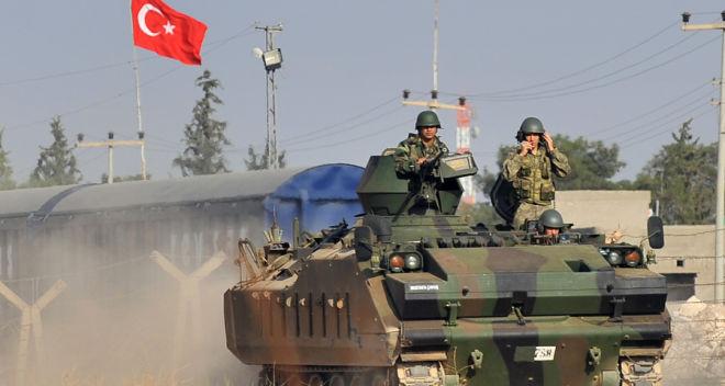 Türk ordusu İraqın şimalını vurdu