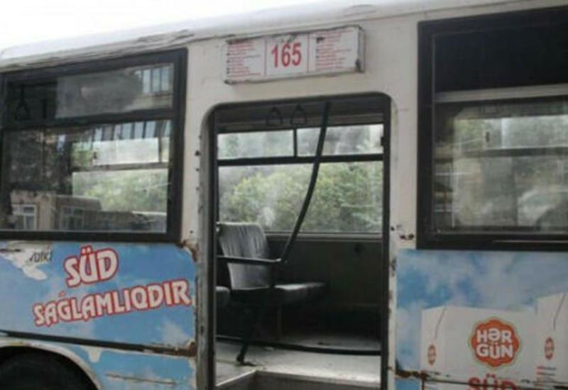 Bakıda marşrut avtobusu qəza törətdi: ÖLƏN VAR