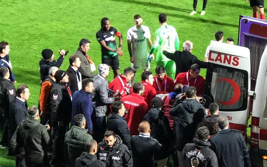 Türkiyə futbolunda üzücü olay