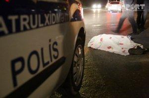 Hacıqabulda mikroavtobus piyadanı vurub öldürdü