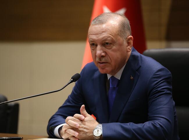 Ərdoğan Rusiya və İrana MÜRACİƏT ETDİ