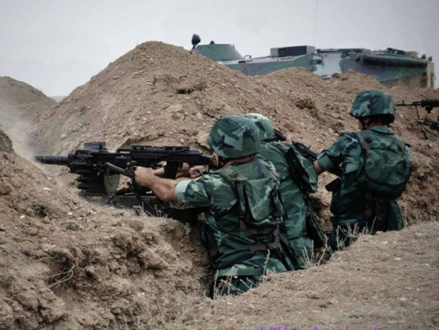 Ermənistan silahlı bölmələri atəşkəsi pozdu