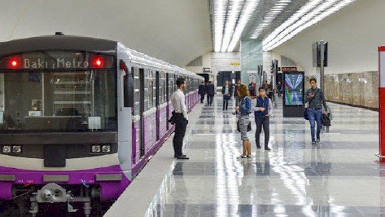 Bakı metrosu yalnız bu saatlarda açıq olacaq