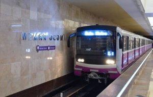 Bakı metrosunda sərnişinlərin sayı azalıb