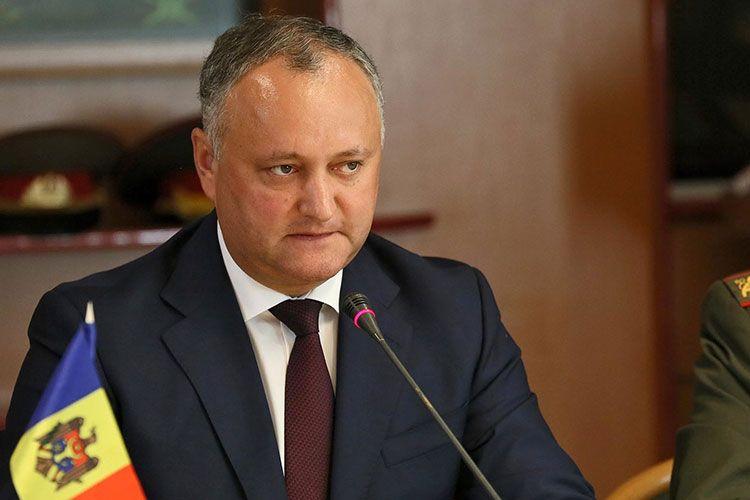 Moldova Prezidenti Rusiyaya işgüzar səfərini dayandırdı