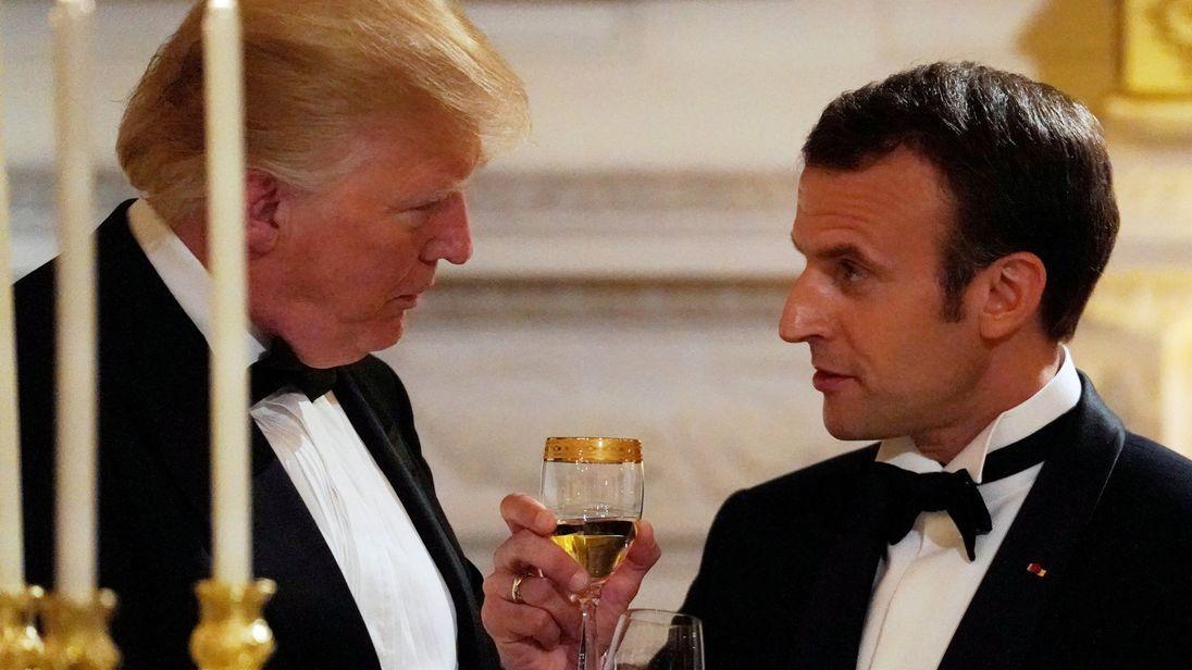 Fransadan Trampın qərarına reaksiya