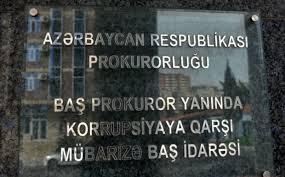 Baş prokuror yanında Korrupsiyaya Qarşı Mübarizə Baş İdarəsinə yeni rəis təyin edildi