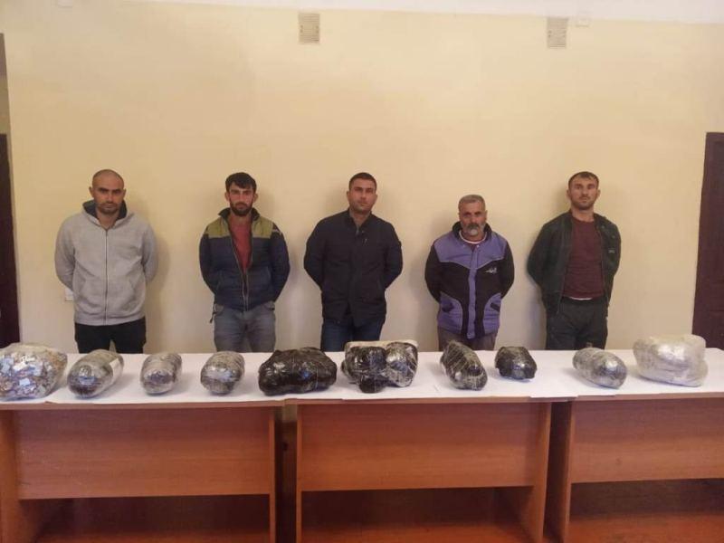 Azərbaycana 43 kiloqram narkotik vasitə gətirən dəstə ZƏRƏRSİZLƏŞDİRİLDİ