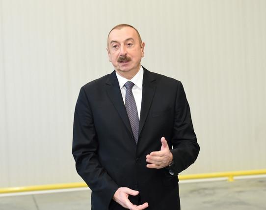 Prezident icra başçısına İRAD BİLDİRDİ