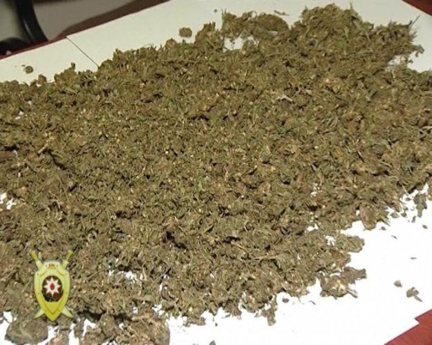 Bakıda evdən 40 kilodan çox narkotik aşkarlandı