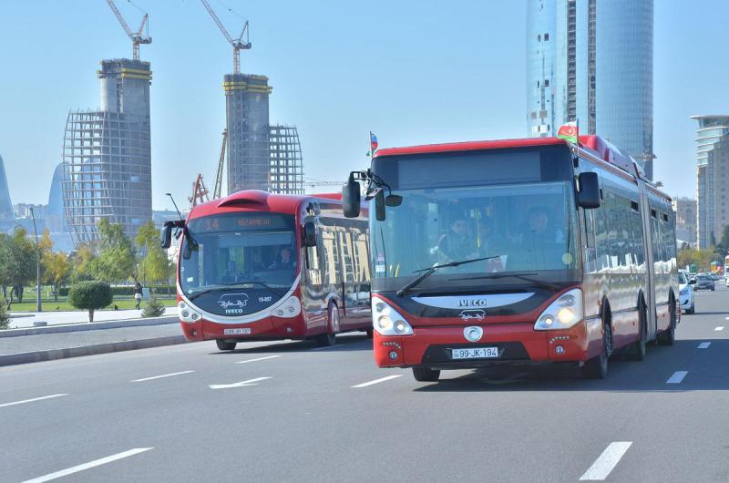 Bakıda avtobusların hərəkəti dayandırılacaq – Agentlik