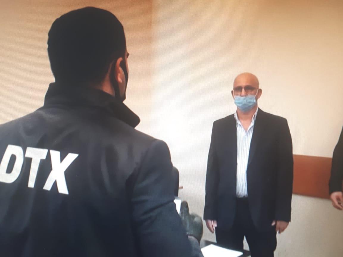 """DTX tərəfindən həbs edilən XİN əməkdaşı məşhur """"avtoş""""un atasıdır – VİDEO"""