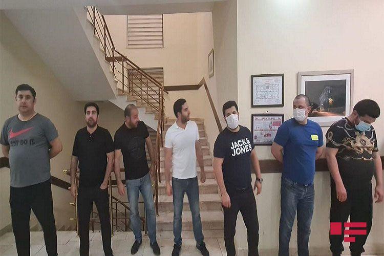 Bakıda kafedə məclis təşkil edənlər saxlanıldı – FOTO