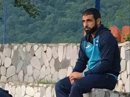"""Rəşad Sadıqovun """"Zirə"""" formasında ilk şəkli"""