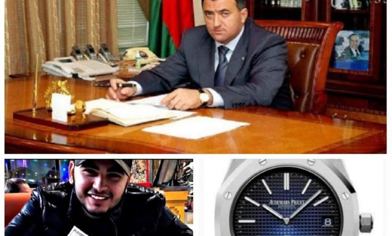 Nərimanov icra başçısının oğlu 130 min manatlıq saatla POZ VERDİ – VİDEO