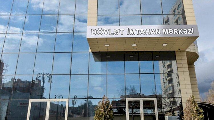 Üzərində telefon aşkarlanan 3 nəfər imtahandan xaric edildi