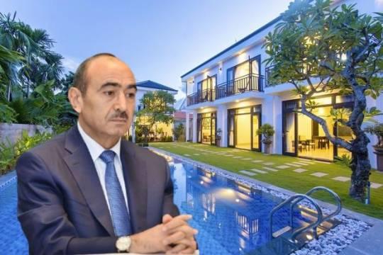 Əli Həsənovun Antalyadakı villasının fantastik qiyməti –FOTO