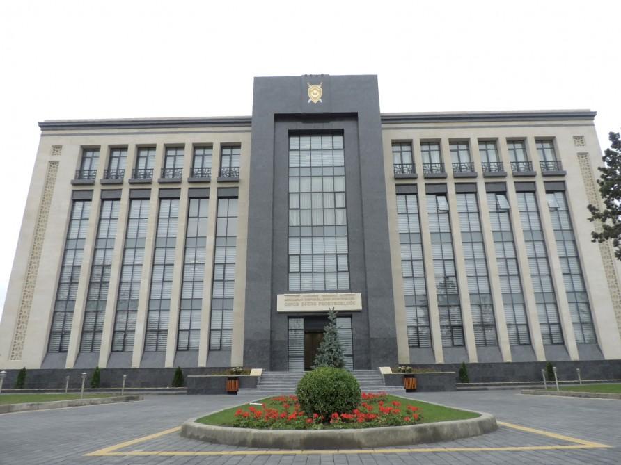 Gəncə şəhər prokurorluğunun MƏLUMATI