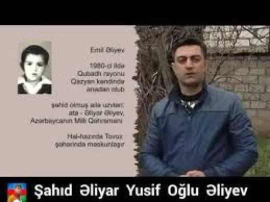 """""""Qubadlıya gedəndə ilk olaraq atamın məzarın ziyarət edəcəm…""""-Əliyar Əliyevin oğlu…"""