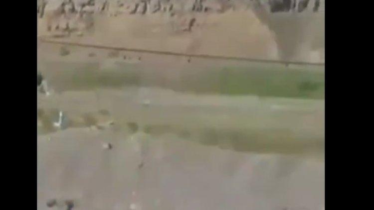 Ermənilər döyüş meydanından qaçdı – Video