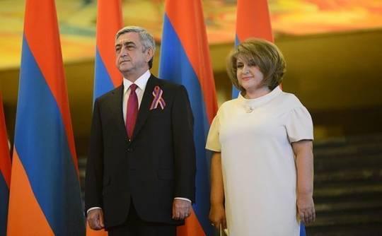 Serj Sarqsyanın arvadı öldü