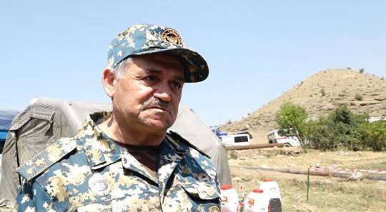 Qarabağda uduzan erməni generalın ürəyi partladı