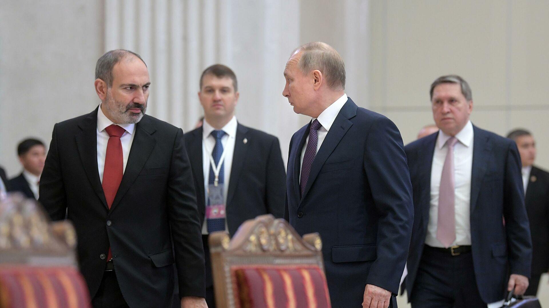 Kreml Putin-Paşinyan görüşü barədə MƏLUMAT YAYDI