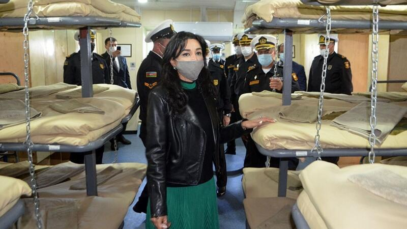 Ombudsman Hərbi Dəniz Qüvvələrinin hərbi hissəsində – FOTO