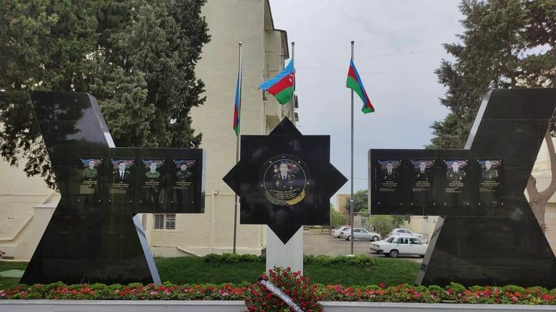 General Polad Həşimovun adına yaradılan parkın açılışı oldu – FOTO