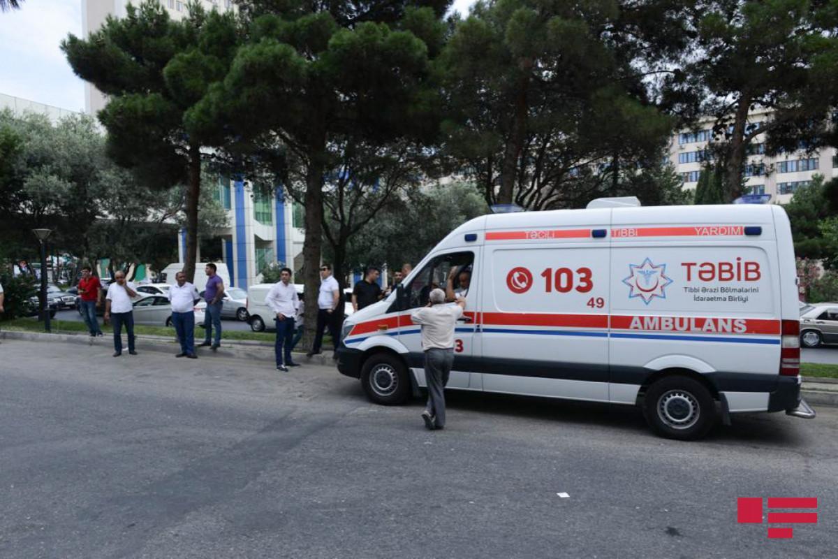 """""""Maşın bazarı""""nda baş verən partlayışda xəsarət alan polis kapitanı ölüb"""