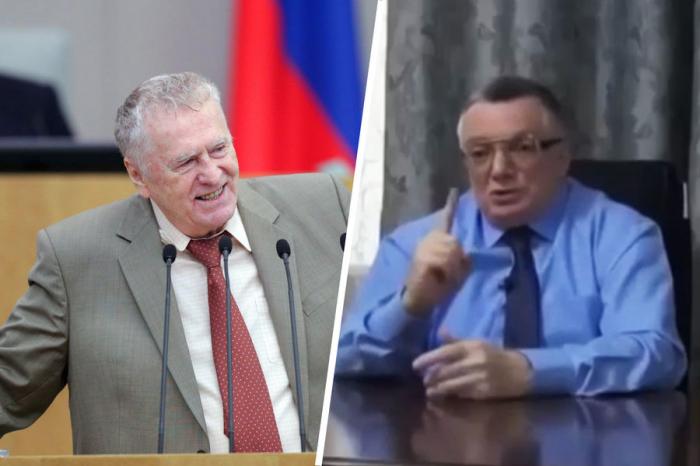 Jirinovski Azərbaycandan Vahabzadənin həbsini tələb edir