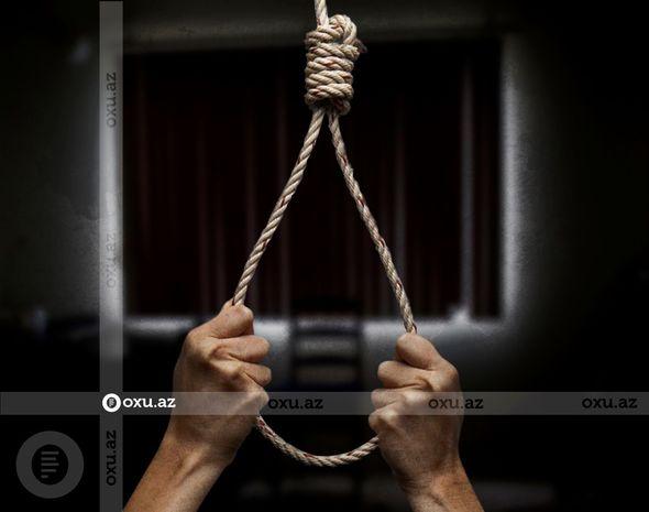 Göyçayda 59 yaşlı kişi intihar edib